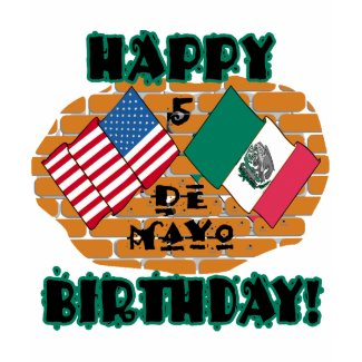 Happy Cinco de Mayo Birthday shirt