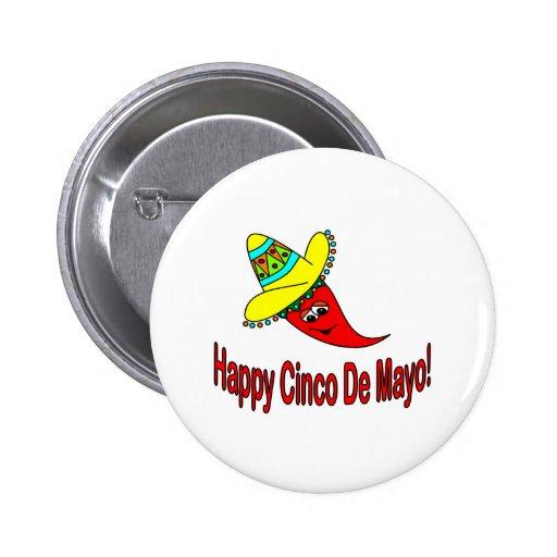 Happy Cinco De Mayo Buttons