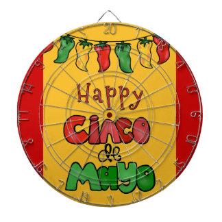 Happy Cinco de Mayo Dart Boards