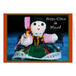 Happy Cinco de Mayo doll greeting card