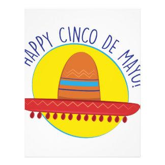 Happy Cinco De Mayo Letterhead