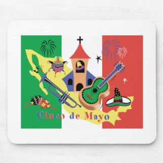 Happy Cinco de Mayo Mouse Pad