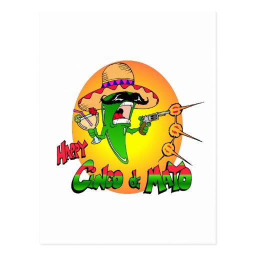 Happy Cinco de Mayo Post Card