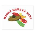 Happy Cinco De Mayo Post Cards