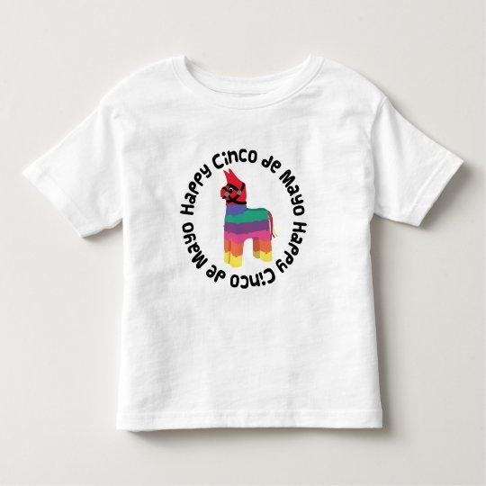 Happy Cinco De Mayo Toddler T-shirt
