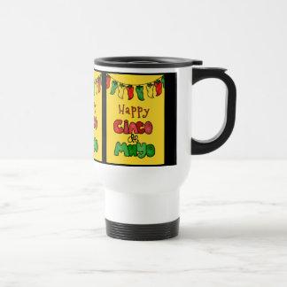 Happy Cinco de Mayo Travel Mug