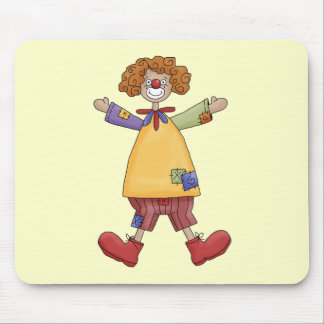 Happy Circus Clown Mouse Pad