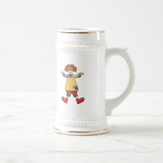 Happy Circus Clown Mug