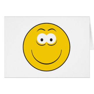 Happy Classic Smiley Face Card