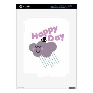 Happy Cloud Day iPad 3 Skin
