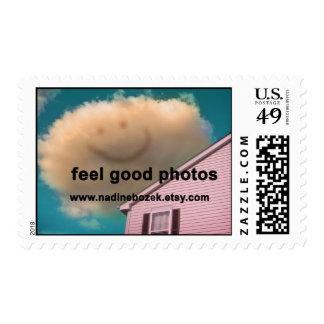 Happy Cloud Feel Good Photos Postage