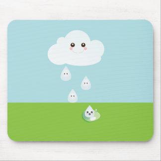Happy Cloud Mouse Pad
