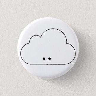 Happy Cloud Pinback Button