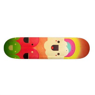 Happy Cloud Skateboard