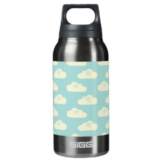 Happy Clouds Blue Sky Insulated Water Bottle