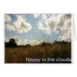 happy clouds wenskaarten