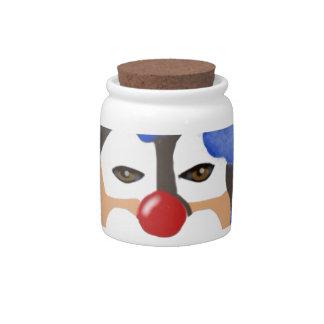 Happy Clown Candy Dish