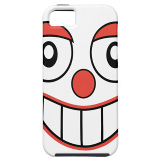 Happy Clown Cartoon Drawing iPhone SE/5/5s Case