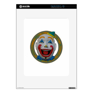 Happy Clown Decal For The iPad