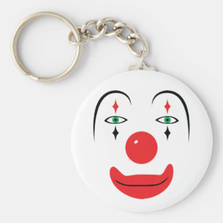 Happy Clown Face Keychains