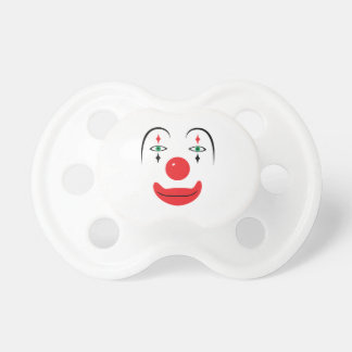 Happy Clown Face Baby Pacifier