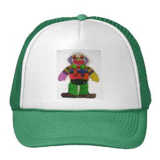 happy clown mesh hat