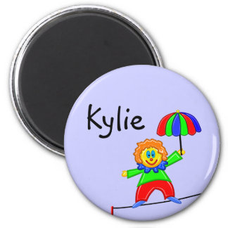 Happy Clown Name Magnet