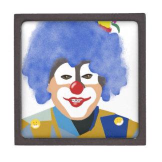Happy Clown Premium Keepsake Box