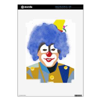 Happy Clown iPad 2 Decal