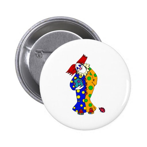 Happy clown with ball pin