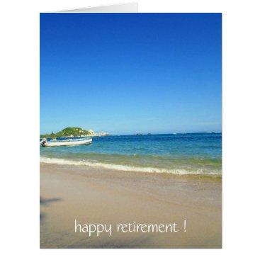 Beach Themed happy coastal big card
