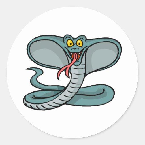 Happy Cobra Stickers