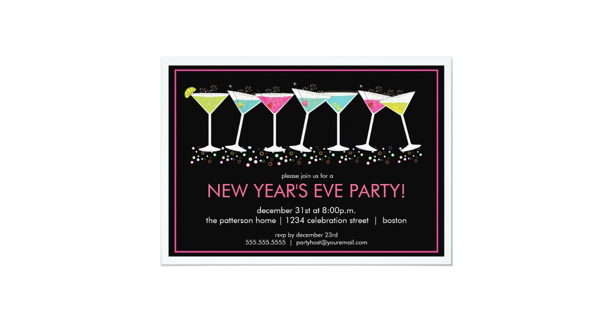 New Years Eve Party Invitations – New Years Eve Party Invitations