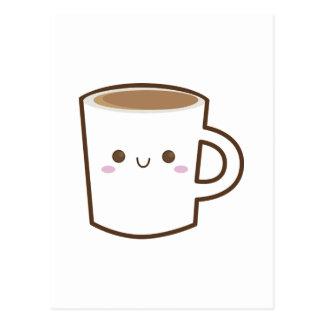 Happy Coffee Cup Postcard