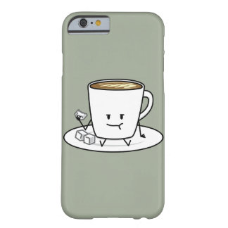 Happy Coffee Eating Sugar Cubes Barely There iPhone 6 Case