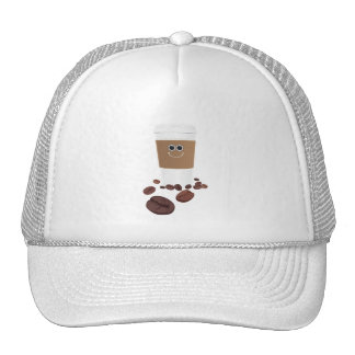 Happy Coffee Mesh Hats