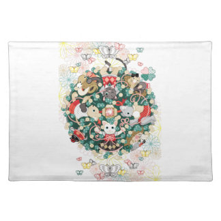 Happy collection (Happy Collection) Cloth Placemat