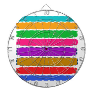 Happy Color therapy energy pattern Dartboards