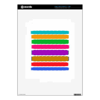 Happy Color therapy energy pattern Decal For iPad 2