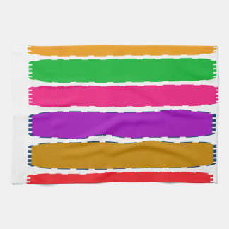 Happy Color therapy energy pattern Hand Towel