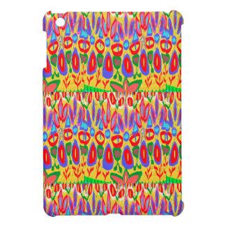 Happy Colorful Acrylic Abstract Spiritual Art gift iPad Mini Cases