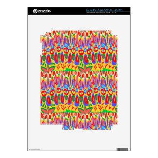 Happy Colorful Acrylic Abstract Spiritual Art gift iPad 3 Skin