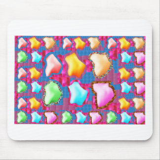HAPPY Colorful Flower Petals Party Return+gifts 99 Mousepads