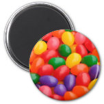 HAPPY COLORFUL JELLYBEAN MAGNET