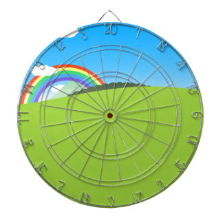 Happy Colorful Planet 03 Dart Board