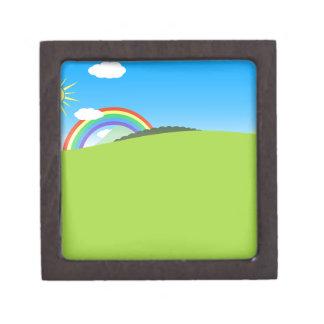 Happy Colorful Planet 03 Keepsake Box