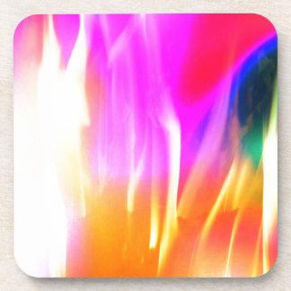Happy Colors Beverage Coaster