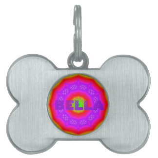 Happy Colors Bone Pet Tag