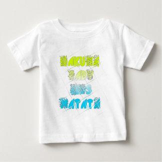 Happy Colors Hakuna Matata Hakunamatata Gift stars Baby T-Shirt