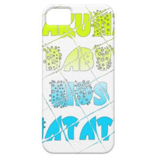 Happy Colors Hakuna Matata Hakunamatata Gift stars iPhone SE/5/5s Case
